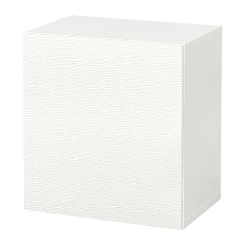 BESTÅ - 上牆式貯物組合, white/Laxviken white   IKEA 香港及澳門 - PE847548_S4
