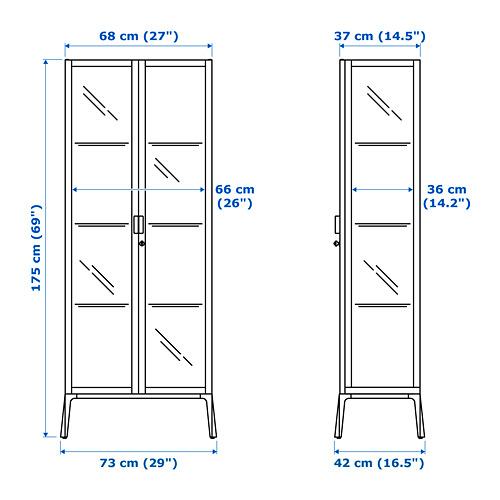 MILSBO - glass-door cabinet, white | IKEA Hong Kong and Macau - PE710391_S4