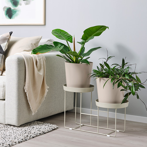 VITLÖK - plant stand, in/outdoor beige | IKEA Hong Kong and Macau - PE804227_S4