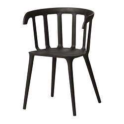 IKEA PS 2012 - 扶手椅, 黑色 | IKEA 香港及澳門 - PE312833_S3
