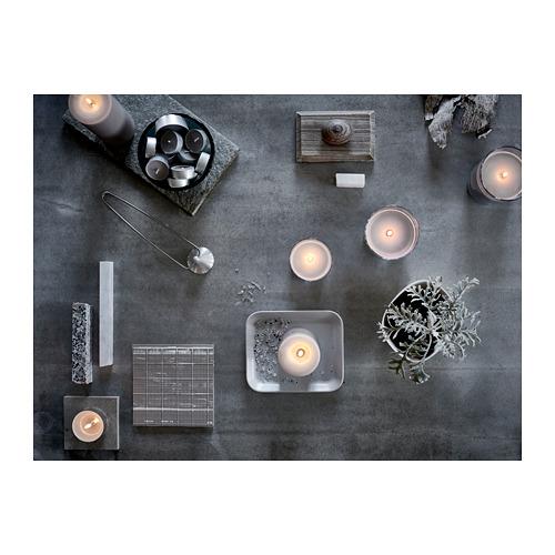 SINNLIG - 香味小蠟燭, 肉豆蔻及雲呢嗱/灰色 | IKEA 香港及澳門 - PE659905_S4