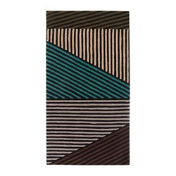 LERBJERG - rug, low pile, black/white/green | IKEA Hong Kong and Macau - PE708756_S3