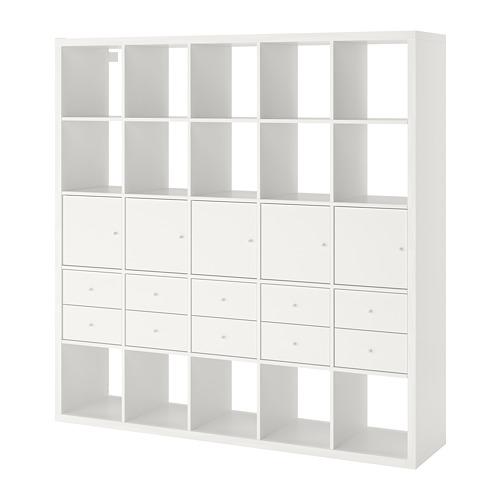 KALLAX - 層架組合連10個貯物格, 白色   IKEA 香港及澳門 - PE748006_S4
