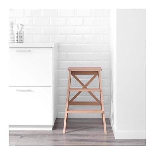 BEKVÄM - stepladder, 3 steps, beech | IKEA Hong Kong and Macau - PE602965_S4