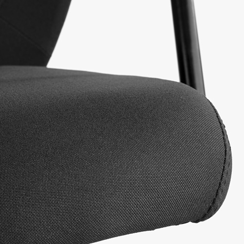 FLINTAN/NOMINELL - office chair with armrests, black | IKEA Hong Kong and Macau - PE563185_S4