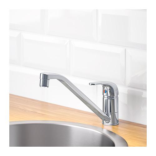 LAGAN - 單桿廚房冷熱水龍頭, 鍍鉻 | IKEA 香港及澳門 - PE603006_S4