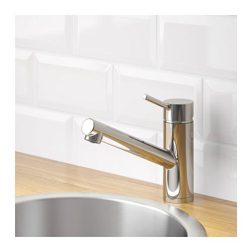 YTTRAN 廚房冷熱水龍頭連拉出式噴頭