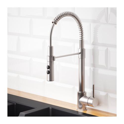 VIMMERN - 廚房用水龍頭/花灑, 不銹鋼色 | IKEA 香港及澳門 - PE603023_S4
