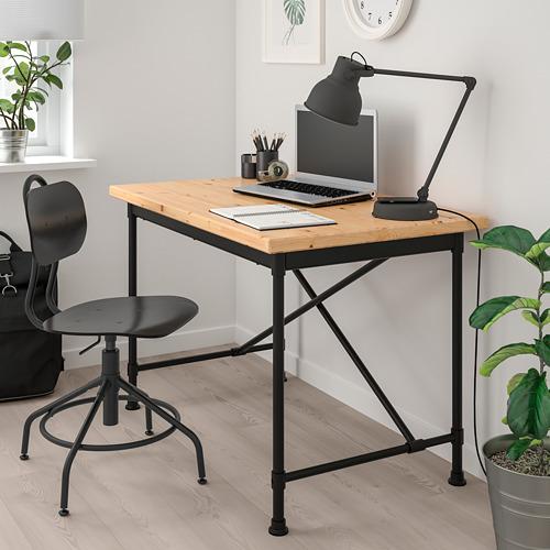 KULLABERG - 旋轉椅, 黑色 | IKEA 香港及澳門 - PE748112_S4