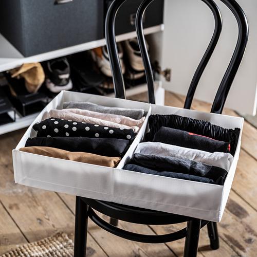STUK - 分格貯物箱, 34x51x10cm, 白色 | IKEA 香港及澳門 - PE803530_S4