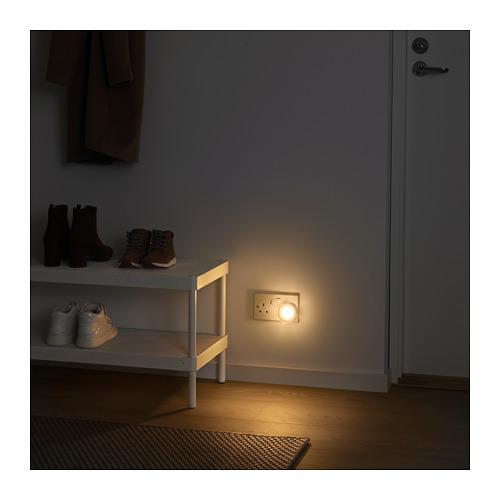 MÖRKRÄDD LED nightlight with sensor