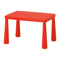 MAMMUT - children's table, in/outdoor red | IKEA Hong Kong and Macau - PE660091_S3