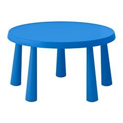 MAMMUT - 兒童檯, 室內/戶外用 藍色 | IKEA 香港及澳門 - PE660095_S3