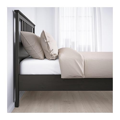 HEMNES - bed frame, black-brown | IKEA Hong Kong and Macau - PE660121_S4