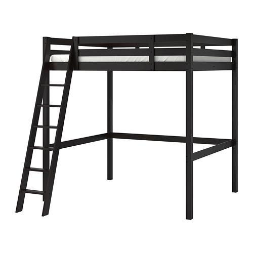 STORÅ - loft bed frame, black | IKEA Hong Kong and Macau - PE708898_S4