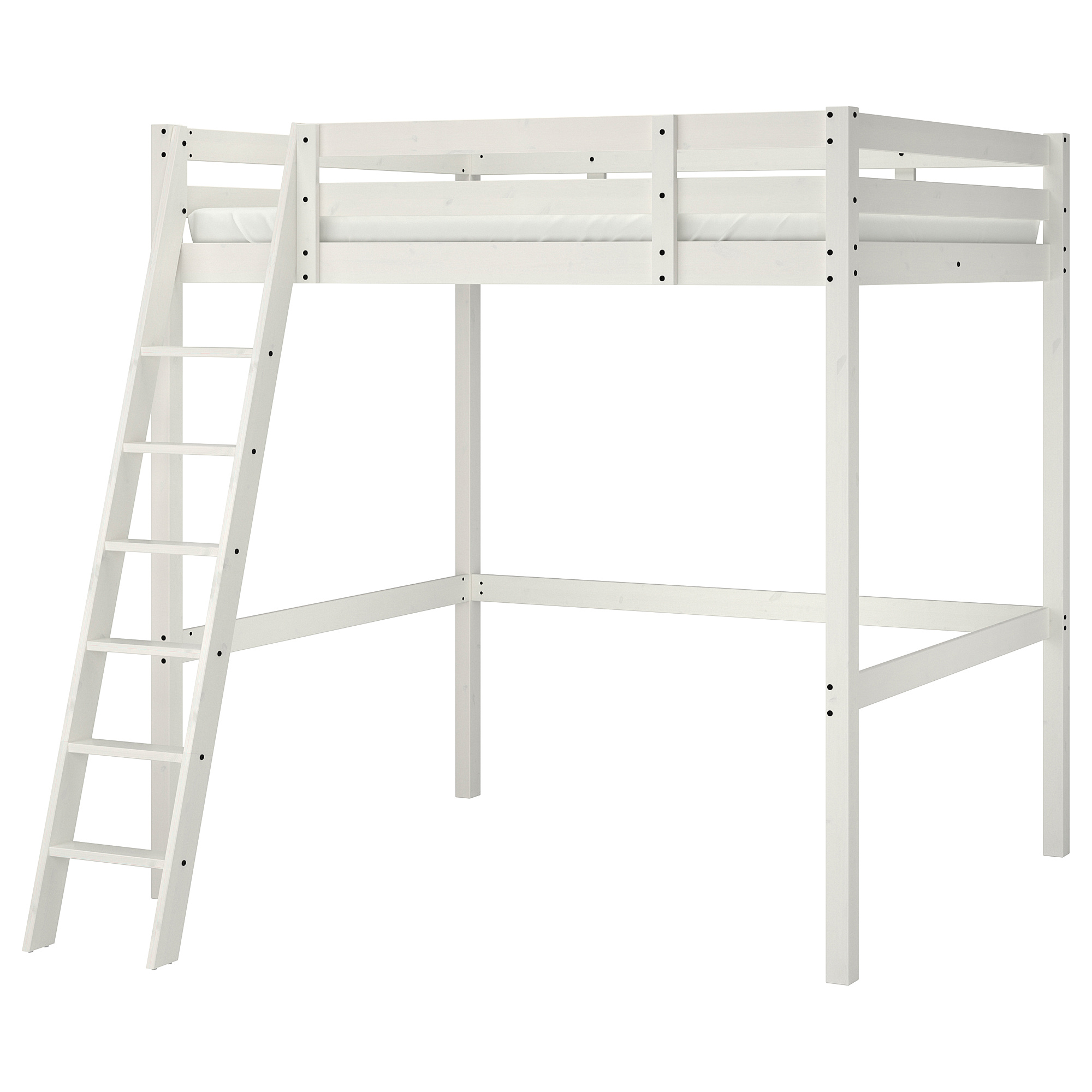 Picture of: Stora Loft Bed Frame White Stain Ikea Hong Kong And Macau