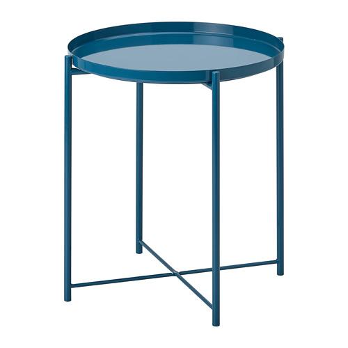 GLADOM - 托盤几, 光面 深藍色   IKEA 香港及澳門 - PE803644_S4