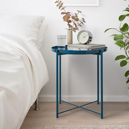 GLADOM - 托盤几, 光面 深藍色   IKEA 香港及澳門 - PE803645_S4