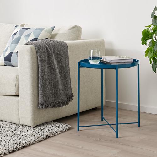 GLADOM - 托盤几, 光面 深藍色   IKEA 香港及澳門 - PE803649_S4