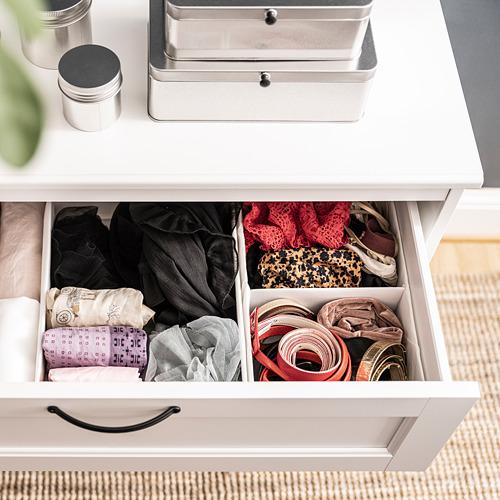 STUK - 分格貯物箱, 20x34x10cm, 白色 | IKEA 香港及澳門 - PE803654_S4