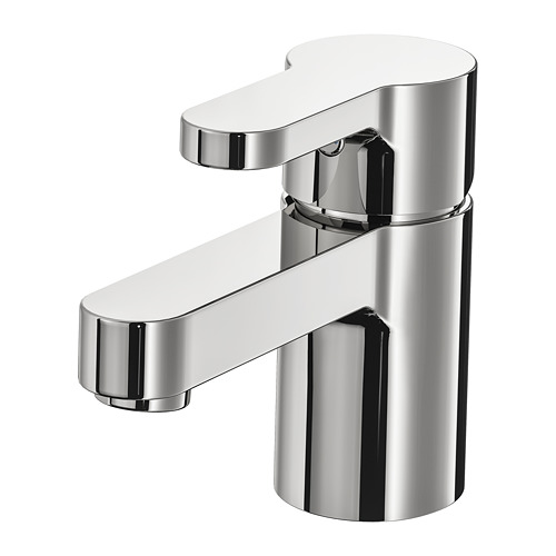 ENSEN - wash-basin mixer tap with strainer, chrome-plated | IKEA Hong Kong and Macau - PE748289_S4