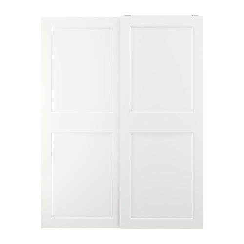 GRIMO - 一對趟門, 白色 | IKEA 香港及澳門 - PE803658_S4