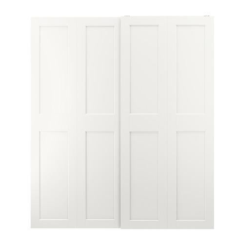 GRIMO - pair of sliding doors, white | IKEA Hong Kong and Macau - PE803664_S4