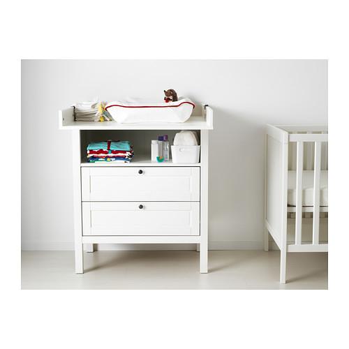 SUNDVIK - 更換尿布檯 / 抽屜櫃, 白色 | IKEA 香港及澳門 - PE399562_S4