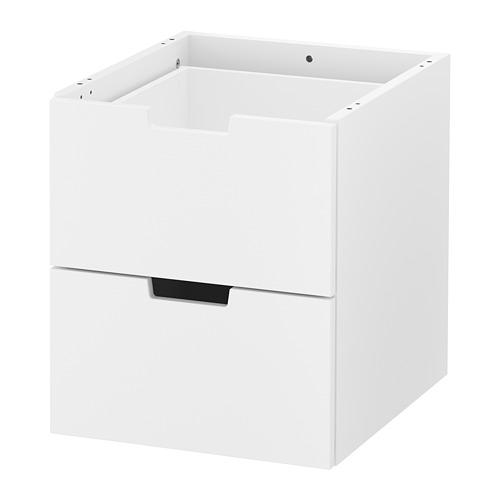 NORDLI - modular chest of 2 drawers, white | IKEA Hong Kong and Macau - PE660199_S4