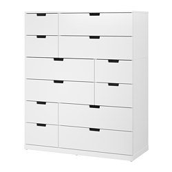 NORDLI - chest of 12 drawers, white | IKEA Hong Kong and Macau - PE660387_S3