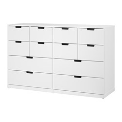 NORDLI - 12格抽屜櫃, 白色   IKEA 香港及澳門 - PE660389_S3