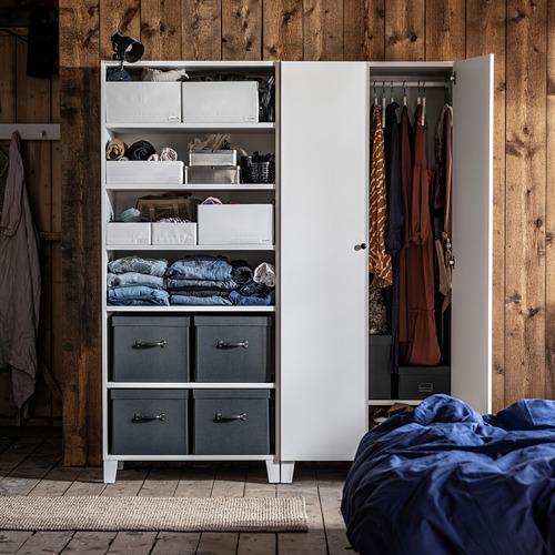 STUK - 分格貯物箱, 34x51x10cm, 白色 | IKEA 香港及澳門 - PE803698_S4