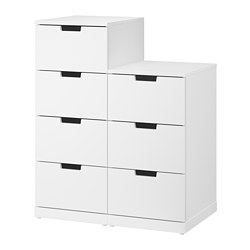 NORDLI - chest of 7 drawers, white | IKEA Hong Kong and Macau - PE660415_S3