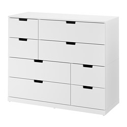 NORDLI - chest of 8 drawers, white | IKEA Hong Kong and Macau - PE660417_S3
