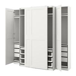PAX/GRIMO - 衣櫃組合, 白色 | IKEA 香港及澳門 - PE803755_S3