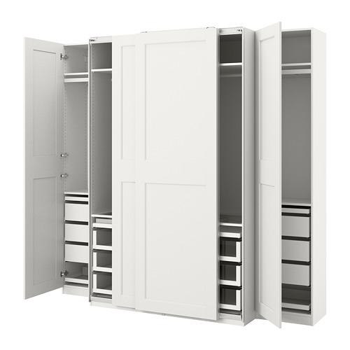 PAX/GRIMO - wardrobe combination, white | IKEA Hong Kong and Macau - PE803755_S4