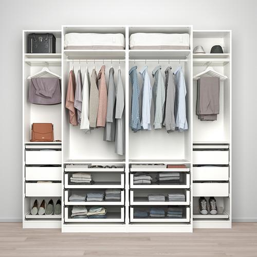PAX/GRIMO - wardrobe combination, white | IKEA Hong Kong and Macau - PE803756_S4