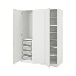 PAX/VIKANES - 衣櫃組合, 白色 | IKEA 香港及澳門 - PE803769_S3