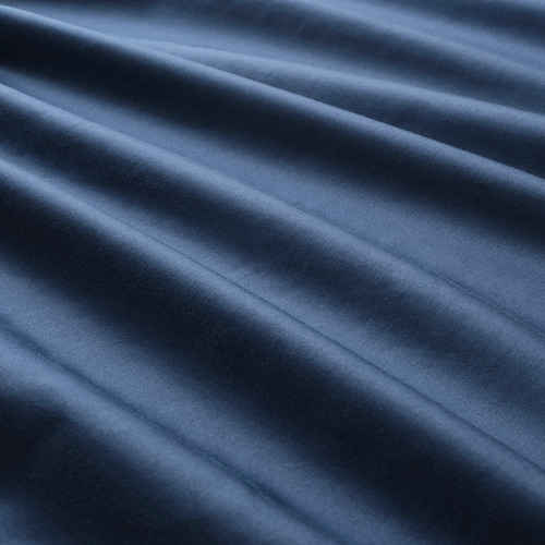 LUKTJASMIN - 被套連2個枕袋, 深藍色, 240x220/50x80 cm | IKEA 香港及澳門 - PE803783_S4