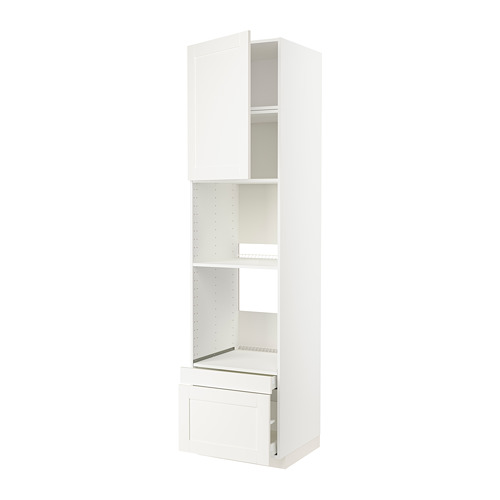 METOD/MAXIMERA - 焗爐用高櫃組合, 白色/Sävedal 白色 | IKEA 香港及澳門 - PE803817_S4