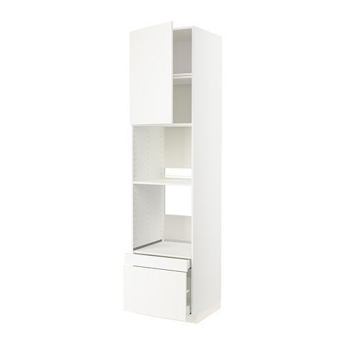METOD/MAXIMERA - 焗爐用高櫃組合, white Maximera/Veddinge white   IKEA 香港及澳門 - PE803809_S4