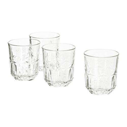 SÄLLSKAPLIG - 水杯, 透明玻璃/圖案   IKEA 香港及澳門 - PE803854_S4