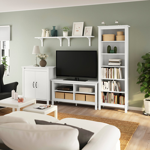 BRUSALI/BERGSHULT TV storage combination