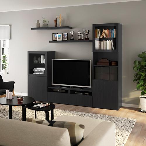 LACK/BESTÅ - 電視貯物組合, 棕黑色 | IKEA 香港及澳門 - PE803967_S4