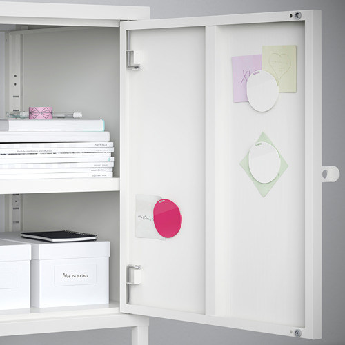 HÄLLAN - storage combination with doors, white | IKEA Hong Kong and Macau - PE663435_S4