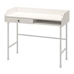 HAUGA - desk, 100x45.3x84.1 cm, white | IKEA Hong Kong and Macau - PE804102_S3