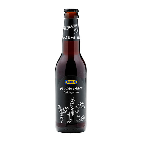 ÖL MÖRK LAGER 黑啤酒(4.7%酒精)