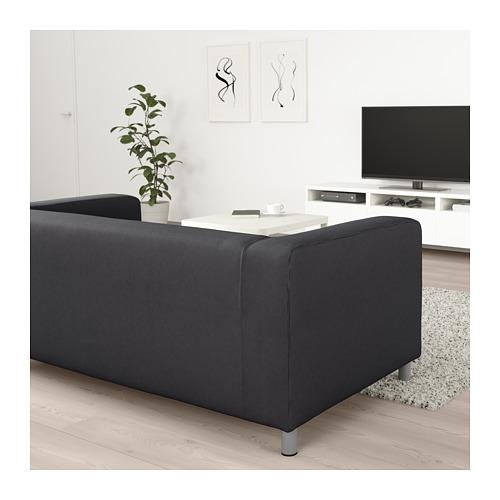 KLIPPAN - 2-seat sofa, Kabusa dark grey | IKEA Hong Kong and Macau - PE709133_S4