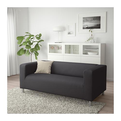 KLIPPAN - 2-seat sofa, Kabusa dark grey | IKEA Hong Kong and Macau - PE709151_S4