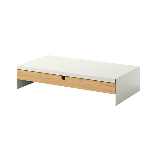 ELLOVEN - 螢幕架連抽屜, 47x26x10 cm, 白色   IKEA 香港及澳門 - PE804426_S4